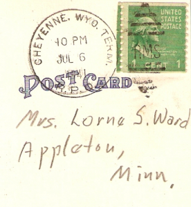 Appleton Postcard Address