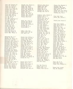 Mariposa Passenger List July 11 1941