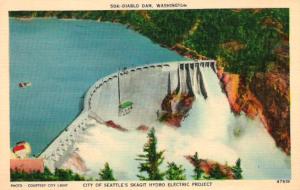 Diablo Dam, Washington