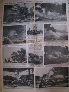 Honolulu Star-Bulletin December 7th, 1941