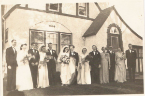Jean and Jerry's wedding
