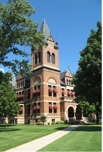 Swift County Courthouse In Benson, MN