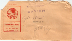 Birthday Telegram 1942