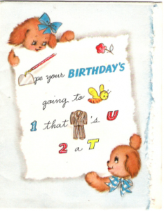 Jerry's Birthday Card