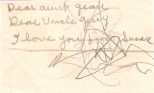 Susan's scribble