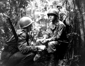 Soldiers on Guadalcanal