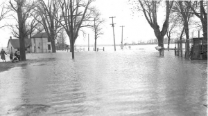 Flooding across the Midwest in April 1943