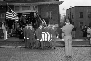 Military Funeral, WWII
