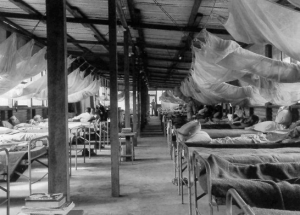 Prefabricated Station Hospital Pacific 1943