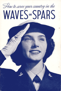 WAVES recruiting pamphlet