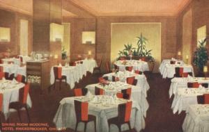 Dining Room, Hotel Knickerbocker Chicago