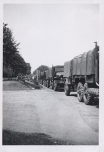US Army Convoy
