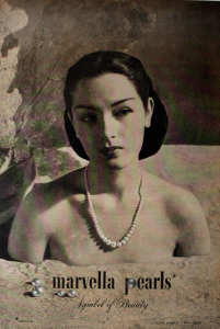 Marvella Pearls Advertisement