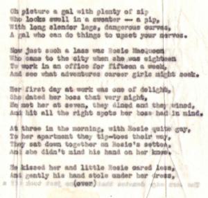 Dolores' Poem