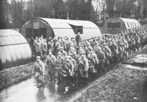 Nissen Huts For American Troops, Northern Ireland