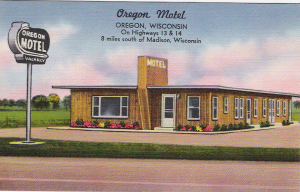 Oregon, Wisconsin Postcard