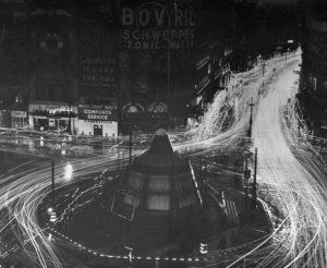 War Time Blackout In London 1944