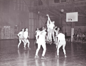 Troop Basketball, WWII