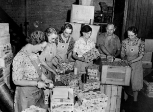 Care Packages For The Troops, WWII