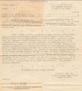 Letter For Bronze Star Medal
