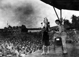 USO Show, South Pacific 1944