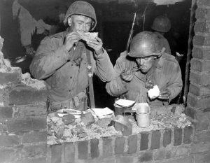 Thanksgiving Dinner, 1944