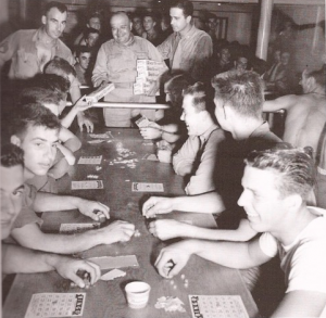 Soldiers Playing Bingo