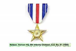 Beany Awarded The Silver Star
