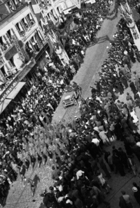 VE Day Parade In France