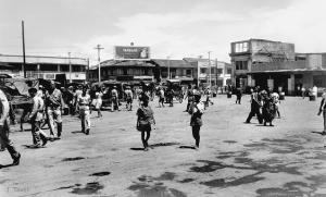 Plaza Miranda, Manila 1945