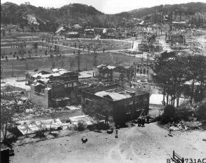Baguio, Luzon 1945