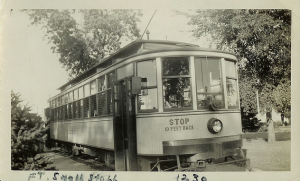 Streetcar At Fort Snelling Station