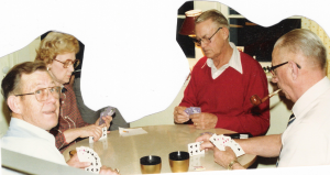 The Nelson Siblings Playing Cards