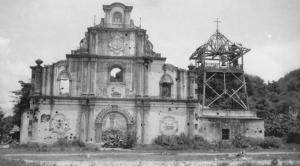 Church at San Fernando, La Union 1945